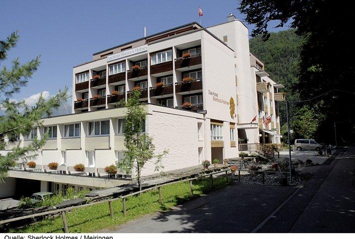 Hotel Sherlock Holmes 187 Meiringen Top Angebot