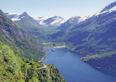 Nordeuropa Kreuzfahrt (Route 2: Norwegen) & Bahn