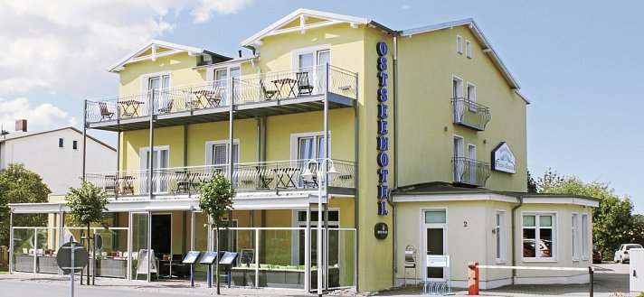 COOEE Ostseehotel Baabe – family & SPA