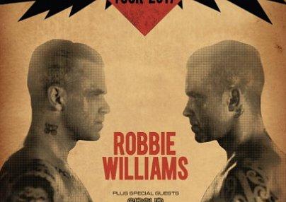 Robbie Williams & 3- / 4-Sterne Hotel