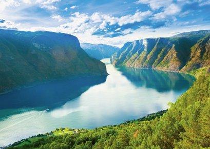 Norwegen Rundreise: Fjordlandschaft